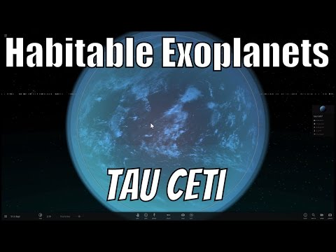 Tau Ceti - Closest Sun Like Star With Earth Like Planets?
