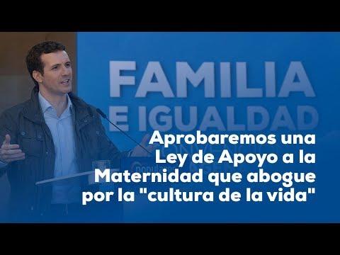 """Aprobaremos una Ley de Apoyo a la Maternidad que abogue por la """"cultura de la vida"""""""
