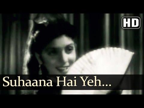 Suhaana Hai Yeh Mausam Salona Hai - Footpath Songs - Dilip Kumar - Meena Kumari - Asha Bhosle (видео)