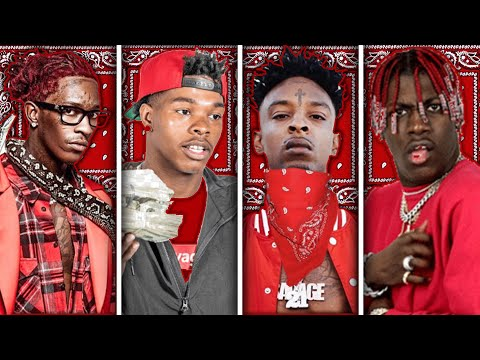 RAPPERS IN ATLANTA GANGS (Lil Baby, Young Thug, 21 Savage)