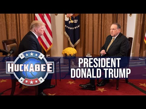 Gov. Mike Huckabee's Full Interview with President Trump   TBN
