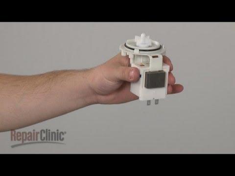 Circulation Pump Motor (part #4681EA2002H) – LG Washer Repair