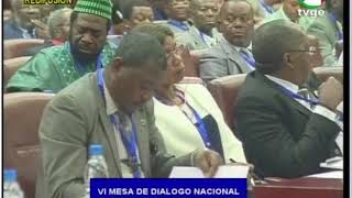 VI Mesa de Diálogo Nacional, SESIÓN I (día 17 de julio de 2018)