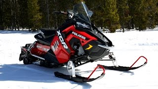 6. 2017 Polaris 600 Rush XCR Review