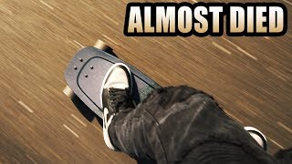 I almost got run over on my Boosted Board by xCodeh