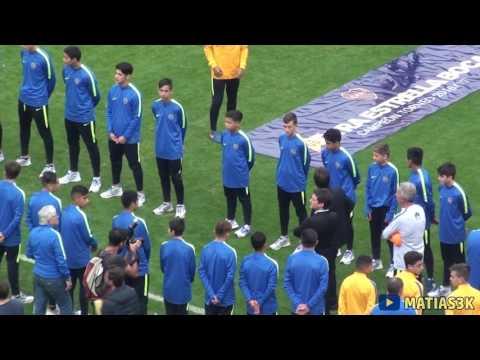 Boca Campeon 2017 / Recibimiento - La 12 - Boca Juniors - Argentina - América del Sur