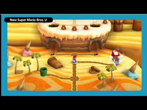 new Wii u - http://www.GameXplain.com Check out some more footage of New Super Luigi U coming to the Wii U this year! • Follow GameXplain on... ...Facebook: http://www.f...