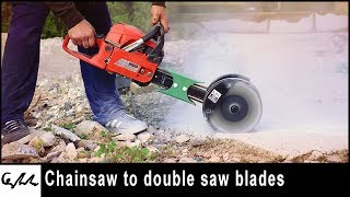 Video Chain Saw to concrete groove cutter MP3, 3GP, MP4, WEBM, AVI, FLV April 2019