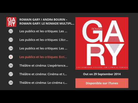Vid�o de Romain Gary