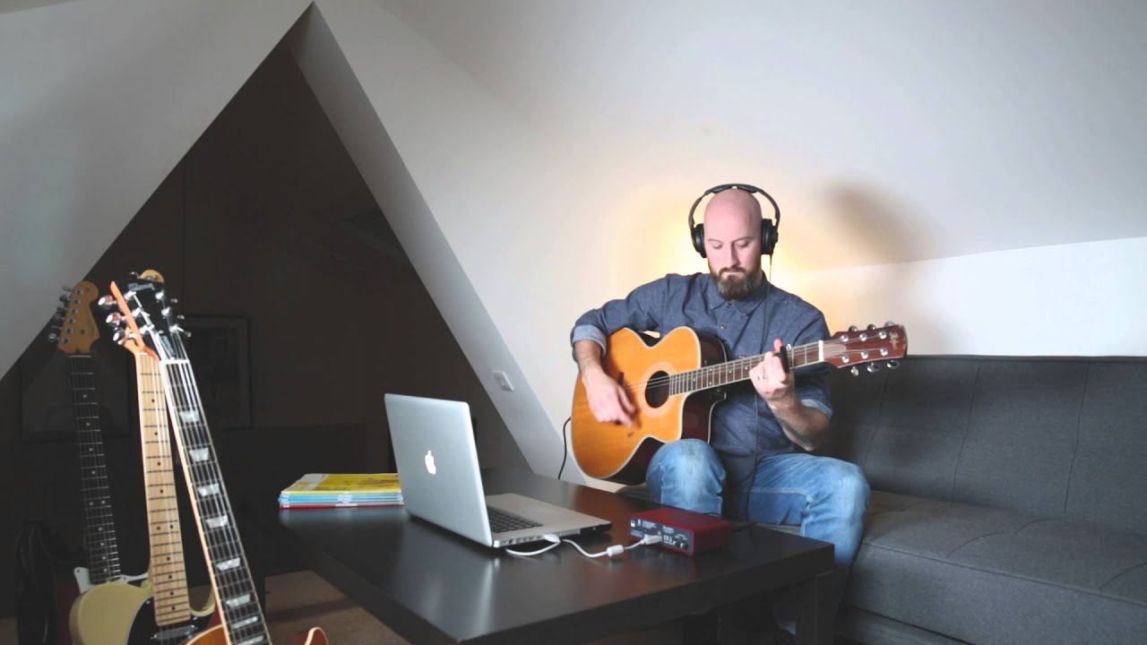 Focusrite // Record Acoustic Guitar with the Scarlett 2i2