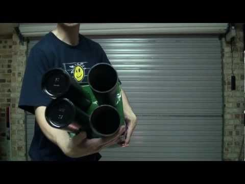 missle - 4 x tube shoulder missle launcher - still building Vlog 71A - http://youtu.be/mcbGWBrkG50 Vlog 71B - http://youtu.be/3NsuZv1hgn8 Vlog 71C - http://youtu.be/h...