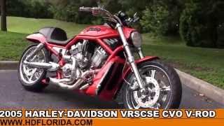 8. Used 2005 Harley Davidson  CVO V-Rod Motorcycles for sale