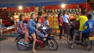 Return to Pakse . A look around Pakse Mall, the market, a meal at My favorite place to eat in Pakse the XaanMai Vietmanes ...