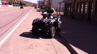 5. 2012 Can-am Outlander 1000 XT vs. 2012 Kawasaki Brute Force 750