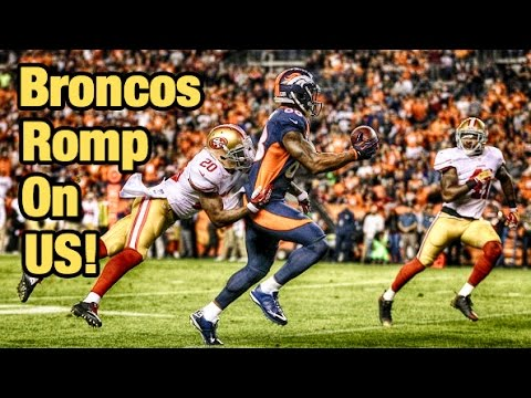 49ers - The 49ers lost there much anticipated matchup with the Denver Broncos, as Hall-0-fame QB Peyton Manning reached the top of the heap of the most touchdown prolific signal callers of all time....