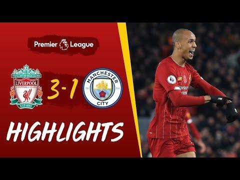 Liverpool 3-1 Man City | Fabinho's stunner helps Reds beat City | Highlights