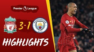 Liverpool 3-1 Man City | Fabinho's stunner helps Reds beat City | Highlights