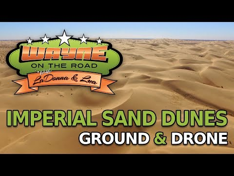 Our Visit to the Imperial Dunes, CA