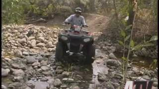 1. ATV Television Test - 2009 Polaris Sportsman XP 850