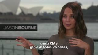 Jason Bourne. Entrevista con Alicia Vikander