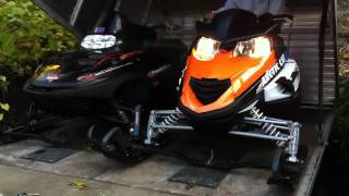 7. 2009 Arctic Cat z1 turbo idle and new windshield