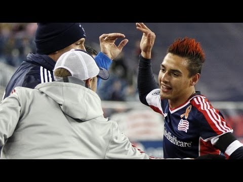 GOAL: Diego Fagundez carves his way through Houstons defense | Houston Dynamo vs NE Revolution_Soccer, MLS, Major League Soccer best videos. Sport of USA, MLS