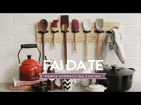 Porta utensili da cucina fai da te | Dalani