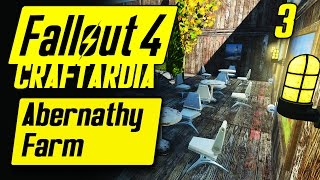 Fallout 4 Abernathy Farm Settlement #3 - Base Building Timelapse - Fallout 4 Settlement Building PC