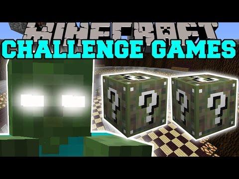 Minecraft: BOB'S MOM CHALLENGE GAMES - Lucky Block Mod - Modded Mini-Game