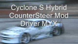 Team D-Style Rc Drifting - ABC Hobby Body S13 Counter - Dori Style!!! Cyclone- S Hybrid Chassis