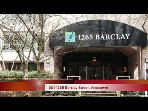 301-1265 BARCLAY STREET, VANCOUVER, DOWNTOWN