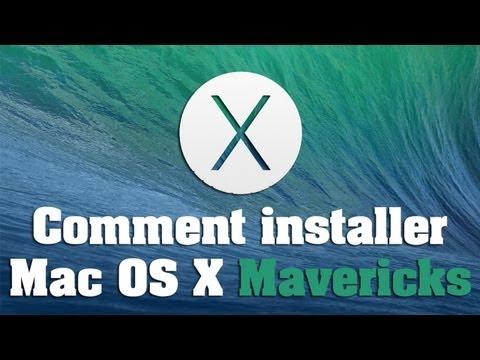 comment installer application mac os x