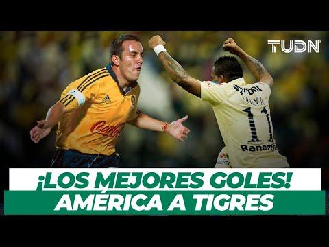 ¡MEGA GOLAZOS! Goles inolvidables del América a Tigres | TUDN