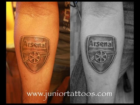 PRADEEP JUNIOT TATTOS :: Arsenal Logo Tattoo