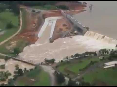 Enchente em algumas cidades de Santa Catarina