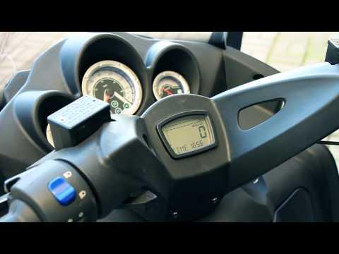 Тест Макси скутер Sachs Quattrocento 400