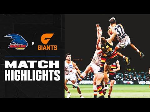 Adelaide v GWS Giants Highlights | Round 16, 2020 | AFL