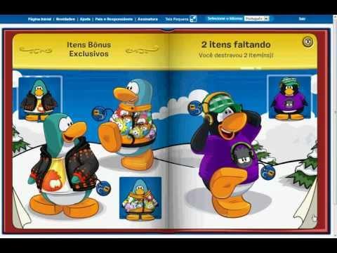 Club Penguin Desbloqueando Livro dos Tesouros!