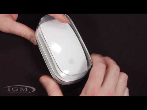 magic mouse - Here's my review of Apple's new wireless multi-touch Magic Mouse. The mouse features a large multi-touch surface for a variety of gestures. http://www.apple....