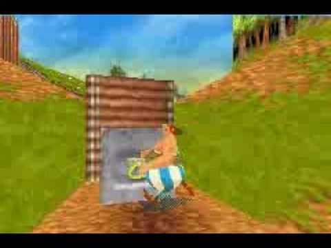 solution asterix et obelix game boy color