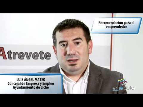 Luis Angel Mateo - Entrevista Enrédate Elx-Baix Vinalopó 2012
