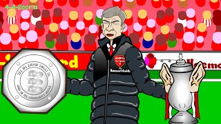 COMMUNITY SHIELD HIGHLIGHTS 2014 Arsenal V Man City By 442oons (football Cartoon 10.08.2014)