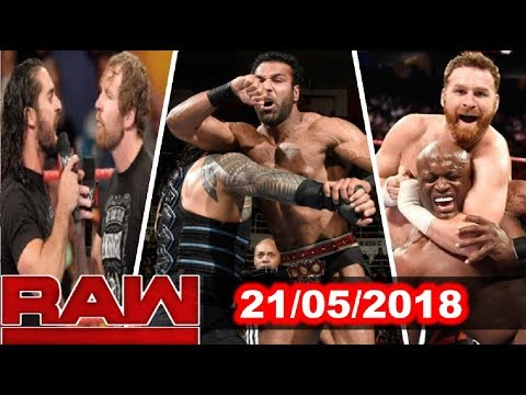 WWE Raw 21st May 2018 Highlights Results & Review