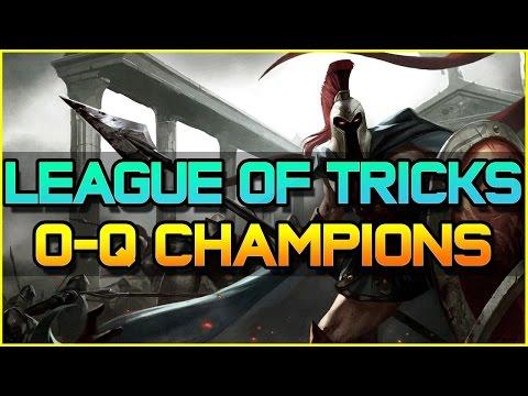 LEAGUE OF TRICKS (O TO Q Champions) - Episode 12   League of Legends