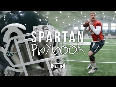 Connor Cook teaching a 3-step drop video.