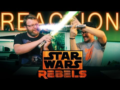 """Star Wars Rebels 2x1 REACTION and DISCUSSION """"The Siege of Lothal"""""""