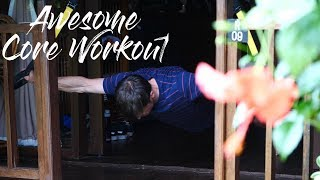 Awesome CORE workout for CLIMBERS by Dan Turner