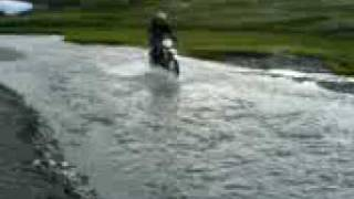 7. Husqvarna TE610IE Waterbed ride 1200meters over sealevel