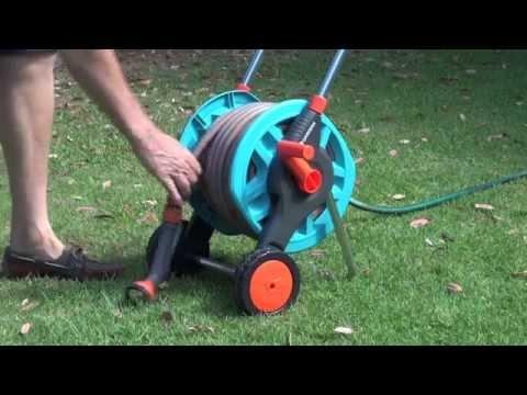 Gardena Hose Reel Trolley - Product Test Drive
