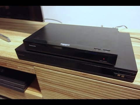 4K UHD Blu-ray Player Panasonic UB404 und Sony X800 im Test